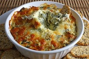 Hot Spinach and Artichoke Dip