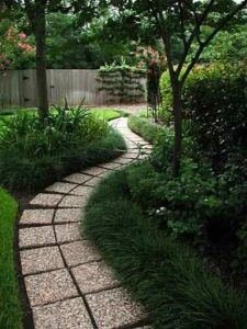 10 unique and creative diy garden path ideas diy cozy home for Nice garden ideas
