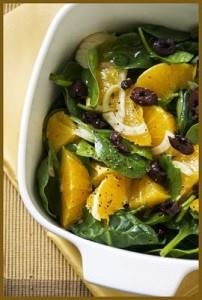 Orange and Fennel Greek Salad