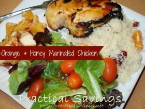 Orange and Honey Marinated Chicken