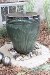 Planter water feature
