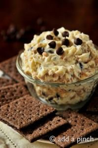 Chocolate Chip Toffee Cookie Dough Dip