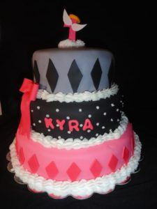 Rocker girl birthday cake!