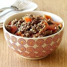 Sautéed Beef with Tomatoes
