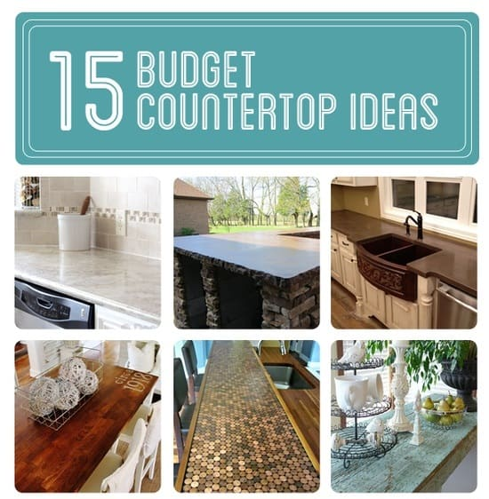 diy countertops on a budget 15 budget countertop ideas diy cozy home 815