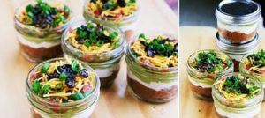 Mini 7 Layer Dip