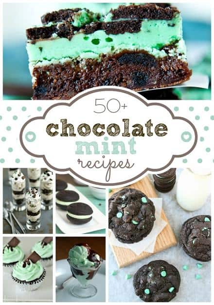chocolate mint dessert recipes ideas