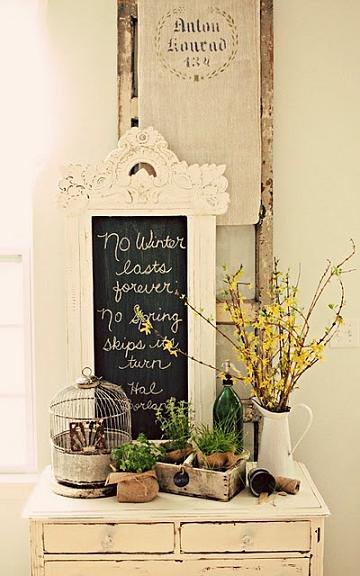 Pinterest shabby chic decorating ideas quotes Cottage home decor pinterest