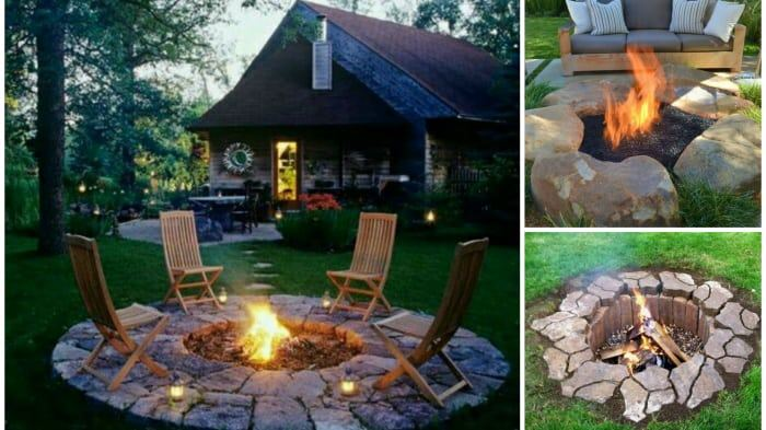 33 diy fire pit ideas diy cozy home diy fire pits solutioingenieria Gallery