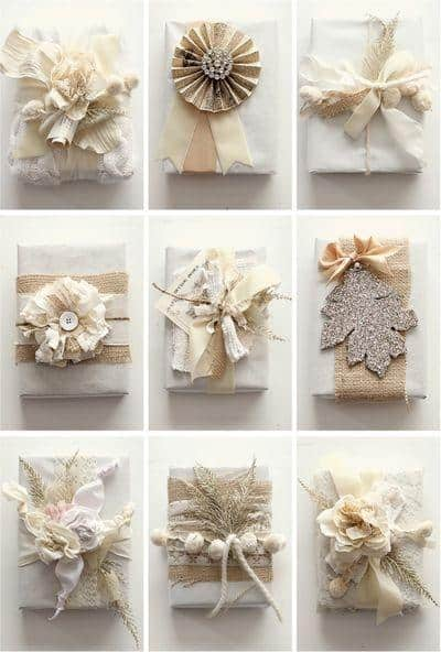 diy gift wrap ideas tutorials