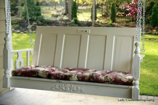 diy porch swing inspiration
