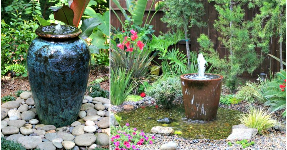 33 Soothing Diy Water Features