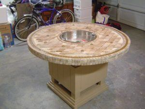 22 Table Top Fire Pit