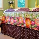 how to sew your own bedskirt
