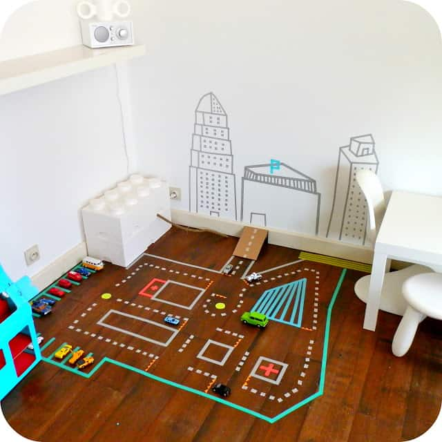 10 awesome do it yourself projects diy cozy home kids room car track solutioingenieria Images