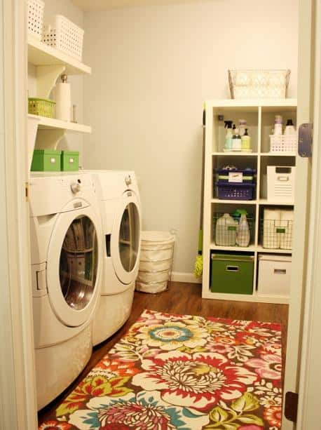 laundry room makeover before and after home tour