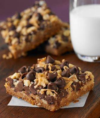 magic cookie bars ghirardelli chocolate recipe