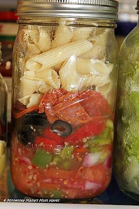 mason jar salad recipes for a week