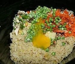 slow cooker chinese fried rice