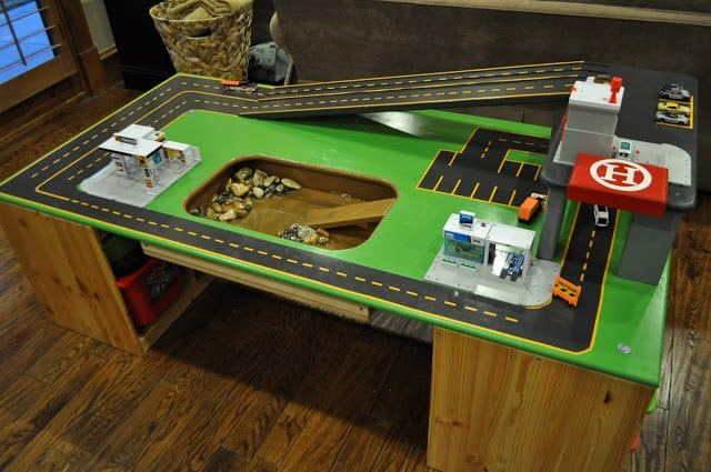 totally cool car table diy