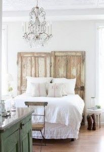 Barn Doors Headboard