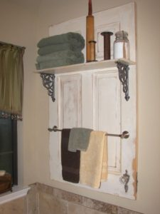 Salvaged Door Storage