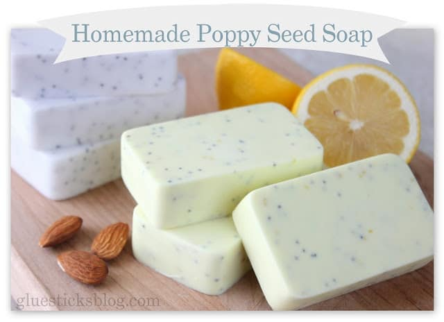 Homemade poppy seed soap recipe diy cozy home Diy homemade soap recipe