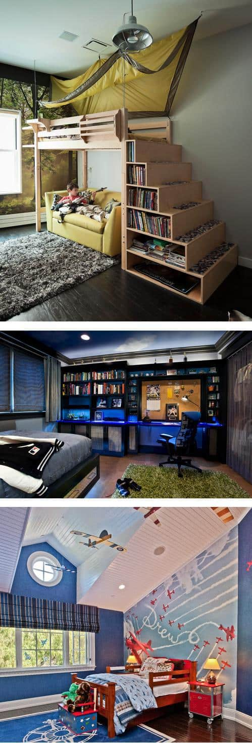 12 cool bedroom ideas for boys diy cozy home Cool teen boy room ideas