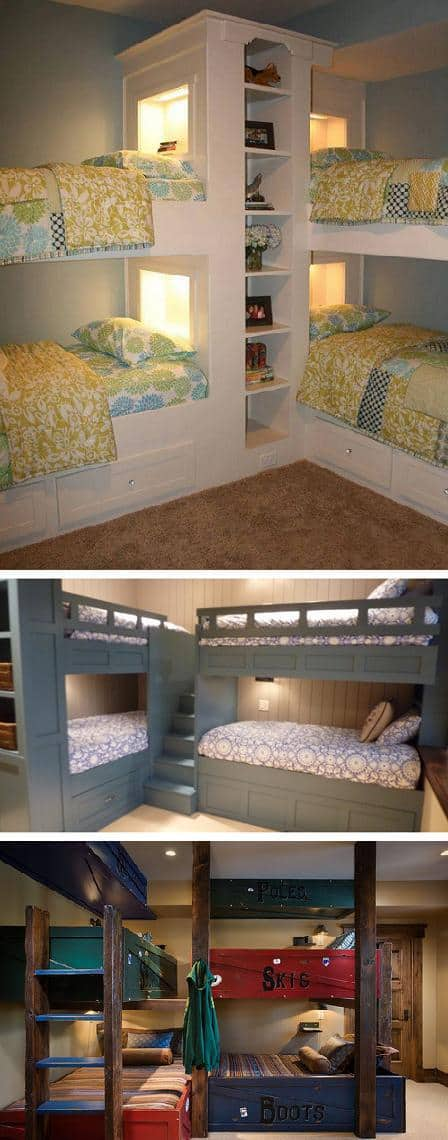Bed Ideas Part - 39: Corner Bunk Bed Ideas