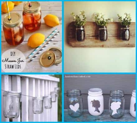 diy mason jar ideas projects