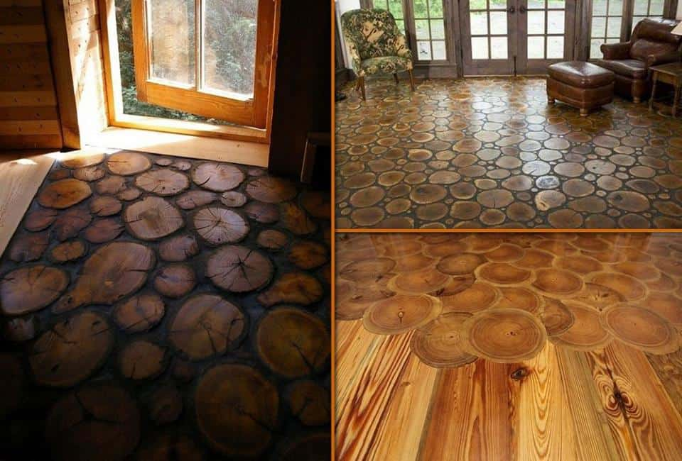 end grain wood flooring
