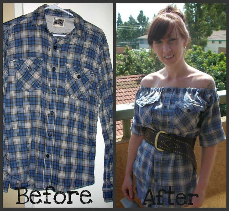 flannel redo step by step