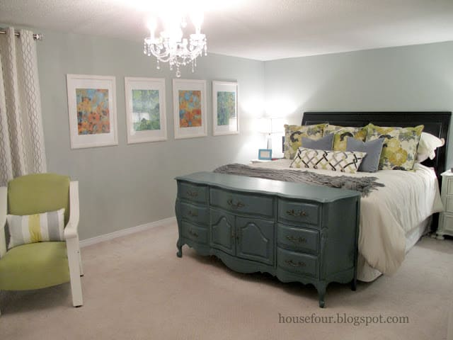 dresser footboard bedroom