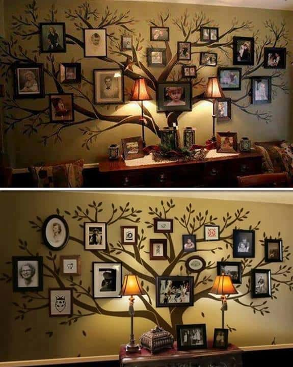 family tree wall decor decal
