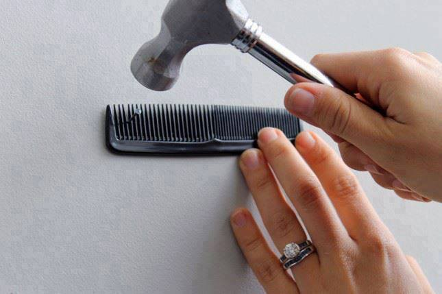 Attractive Household Tips And Tricks Nail Comb