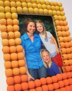 ombre bead frame