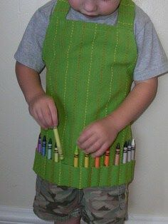 kid art apron