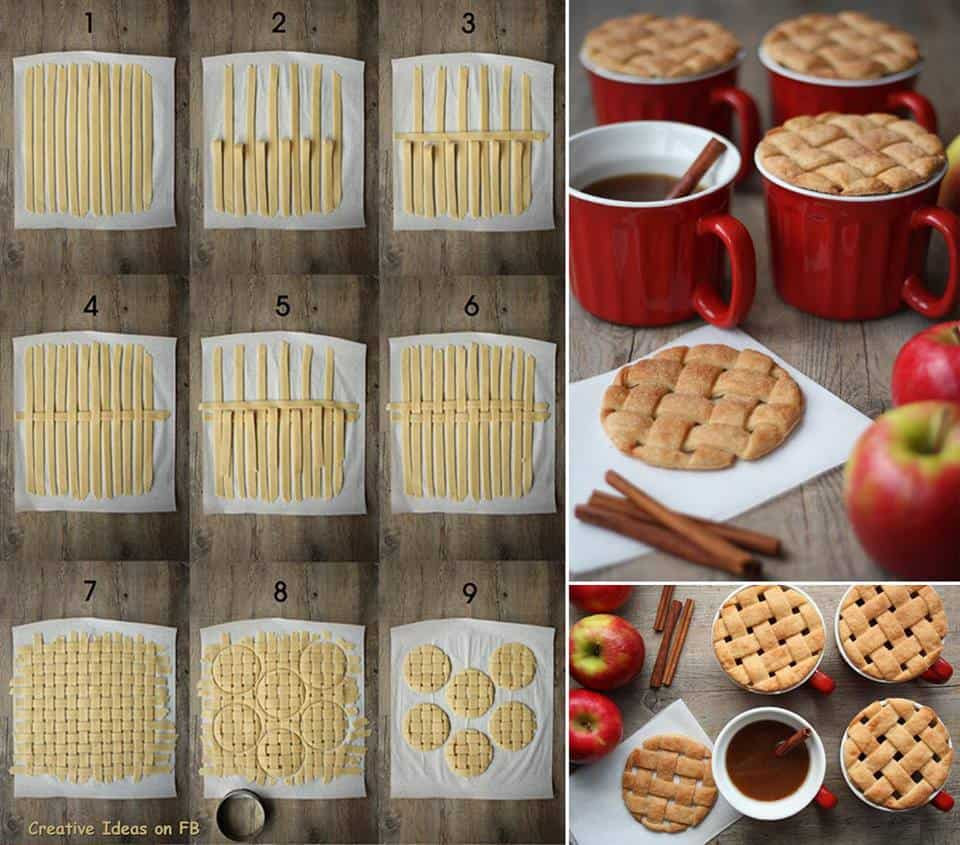 pie crust mug topper recipe