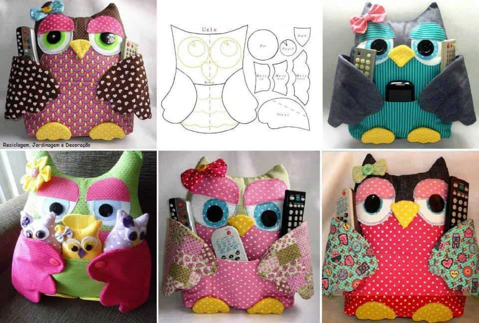 Owl sewing pattern easy owl pillow (the pattern is not free. I.