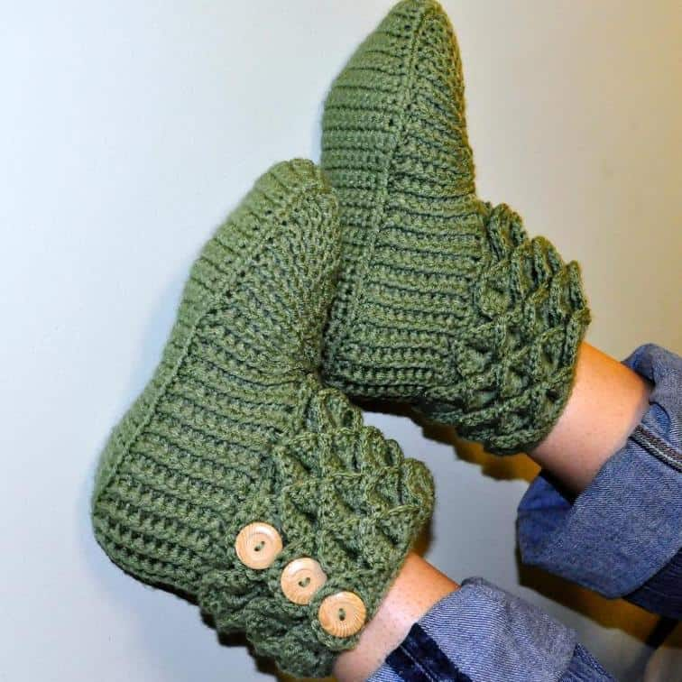 Adult Sized Crochet Boot Patterns