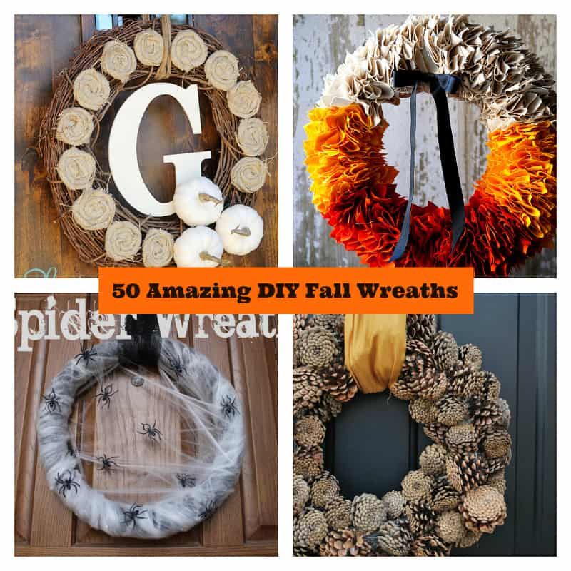 amazing diy fall wreaths