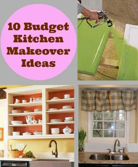 10 budget kitchen makeover ideas diy cozy home for Kitchen designs on a budget pictures
