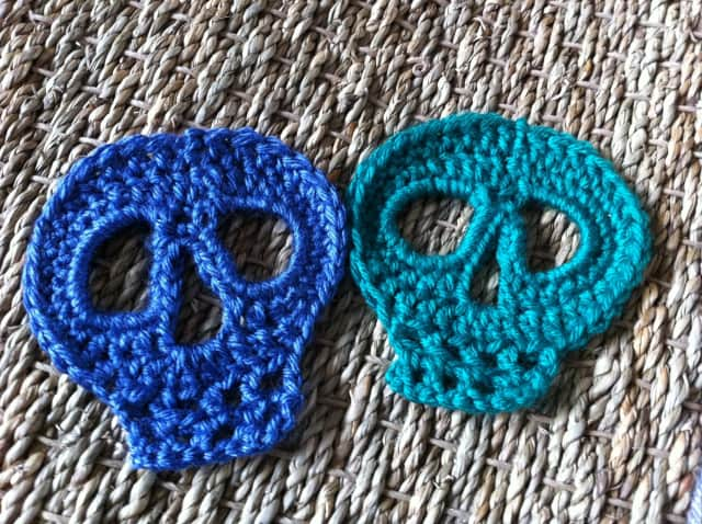 Crochet Skull Shawl Erieairfair