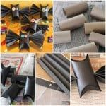 paper roll bats craft