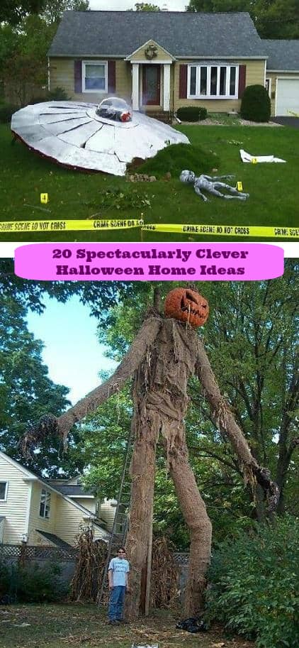 spectacularly clever halloween home ideas