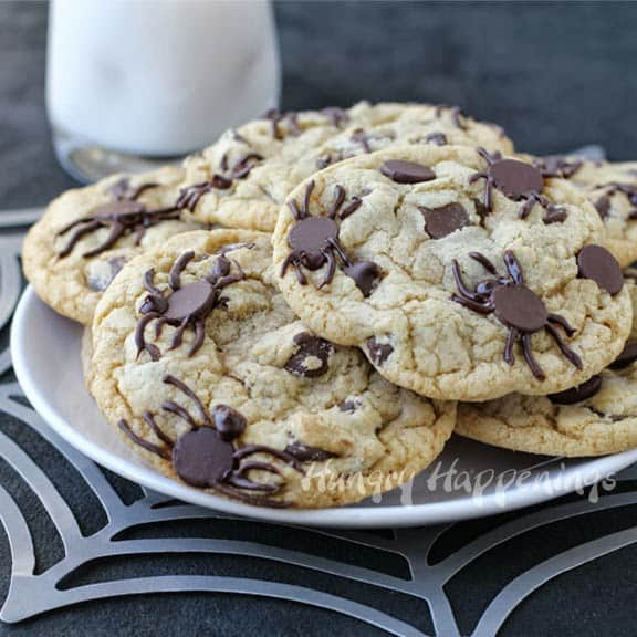 spider infested cookies