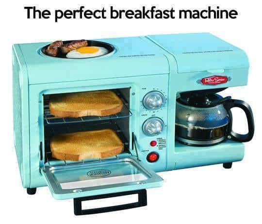 the perfect breakfast machine