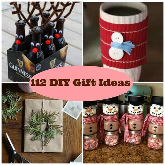 112 diy gift ideas