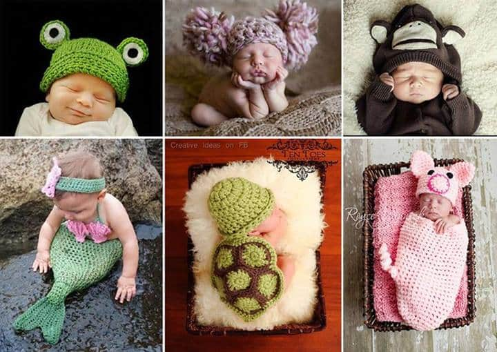 Adorable Crochet Baby Outfits and Accessories | DIY Cozy Home