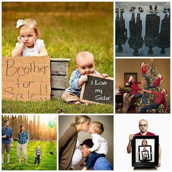 adorable creative family portraits